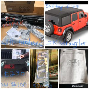 Soft Top for Jeep Wrangler 4-door for Sale in Biloxi, MS