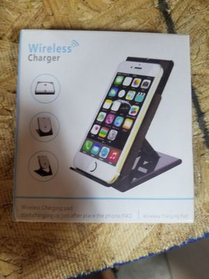 Wireless charger with stand brand new for Sale in Monrovia, CA