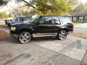2002 ford explorer sport 24 in rims for Sale in Orlando, FL