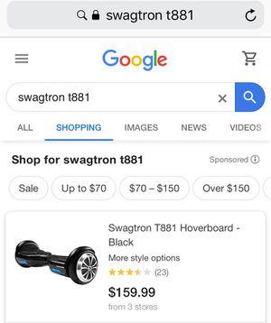 Swagatron Hoverboard in box for Sale in San Antonio, TX