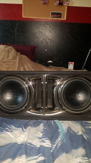 "2 10"" SDX Audio subs for Sale in Avondale, AZ"