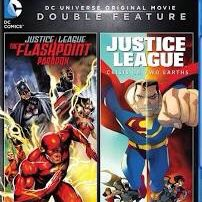 Justice Leage: The Flashpoint Paradox/Justice League: Crisis on Two Earths