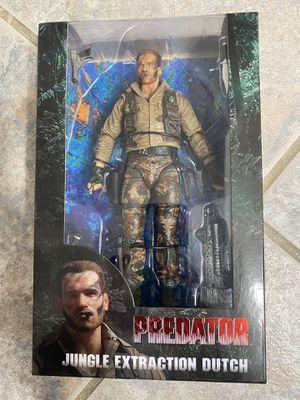 "NECA Predator 7"" scale action figure - 30th anniversary Jungle Extraction Dutch for Sale in Perris, CA"