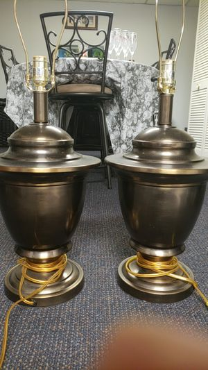 2 lamps for Sale in Pittsburgh, PA