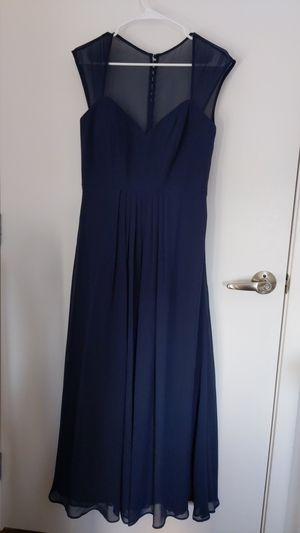 Navy blue semi-formal dress for Sale in Seattle, WA