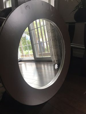 Round wall mirror for Sale in Alexandria, VA