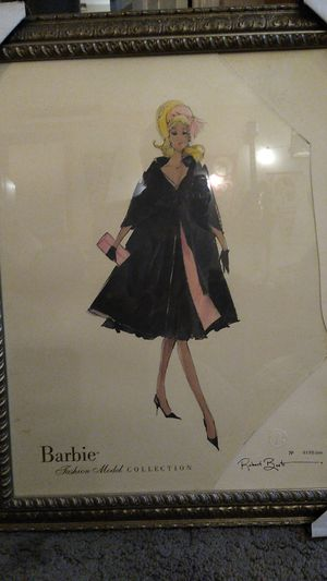 Barbie lithograph for Sale in Sunnyvale, CA