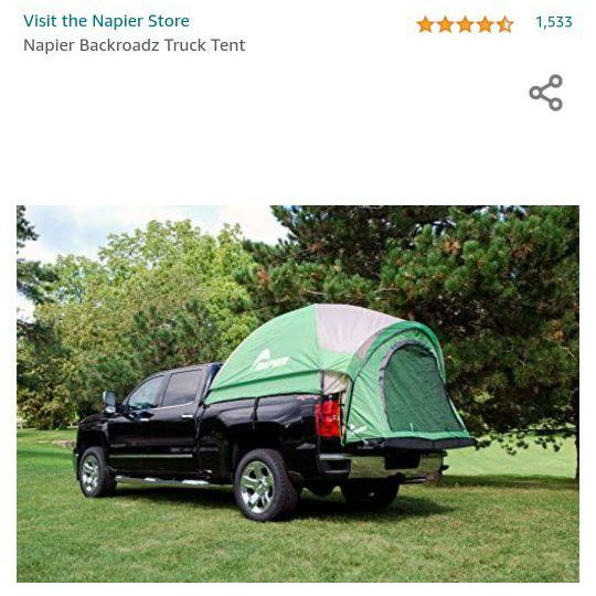 BackRoadz truck tent