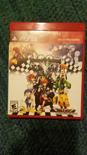 Kingdom hearts 1.5 for ps3 for Sale in El Paso, TX