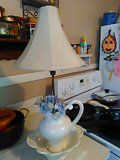 Pitcher and base lamp wish a $25 excellent condition for Sale in South Norfolk, VA