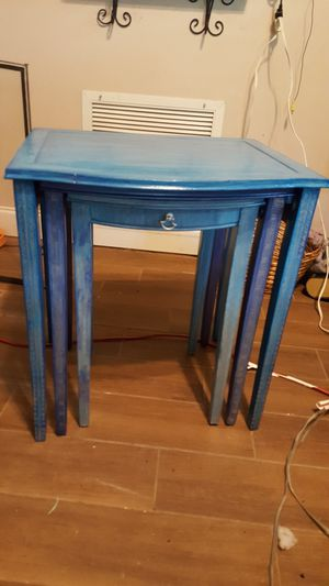 Three Antique Nesting tables. for Sale in Oviedo, FL