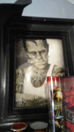 FrankenStein pic with frame for Sale in Pomona, CA