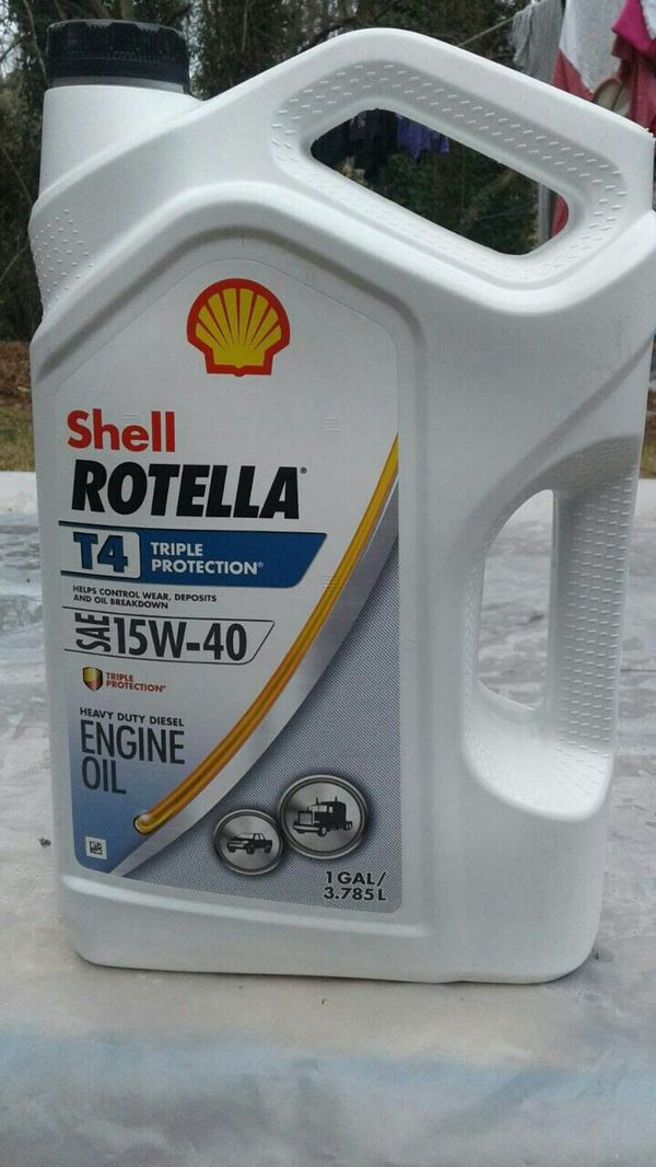 Shell Rotella T4 >> Shell Rotella Shell Rotella T4 15w 40 Diesel Oil Heavy Duty Espanol For Sale In Raleigh Nc Offerup