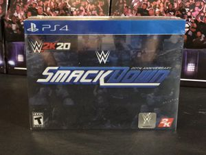 WWE 2K20 SMACKDOWN LIMITED EDITION !! for Sale in San Diego, CA
