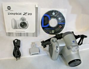 Konica Minolta DiMAGE Z20 5.0MP Digital Camera for Sale in Bridgeport, CT
