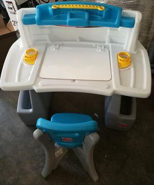 kids art desk with chair for Sale in Redmond, WA