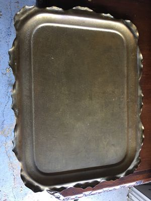 Vintage brass tray for Sale in Dallas, TX