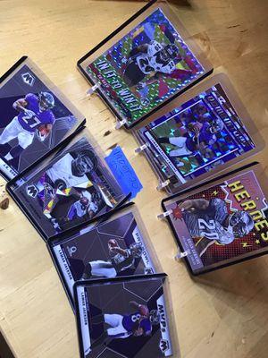 Mosaic, Prestige, Donruss, Lamar Jackson, J.K. Dobbins, ED Reed & Brian Dawkins lot. Baltimore Ravens lot for Sale in Everett, WA