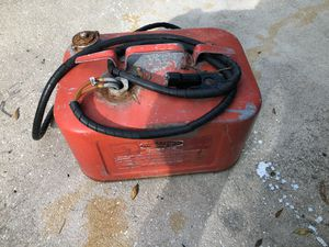 Metal gas tank for outboard boat motor for Sale in Tarpon Springs, FL