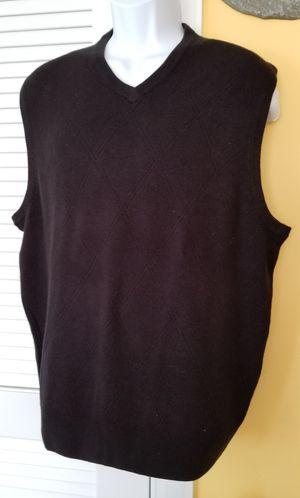 Men Black Vest for Sale in Herndon, VA