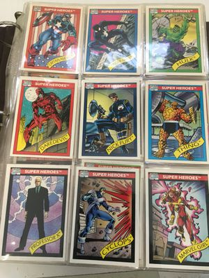 1990 Trading Cards Marvel and Looney Toons for Sale in San Jose, CA