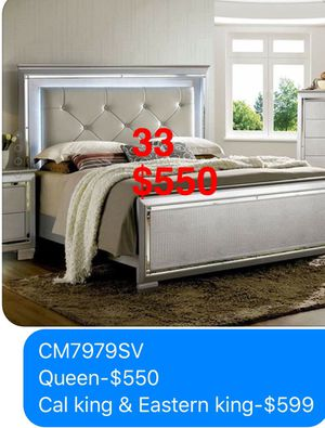 Bed. Mattress not included, but available. Assembly Required. Free Delivery. for Sale in Torrance, CA