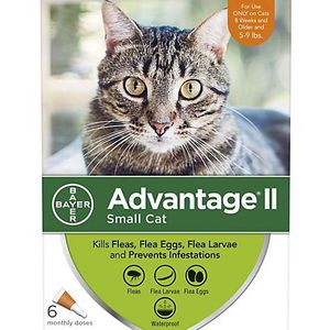 2 boxes of Advantage II for small cat - 6 doses each box. for Sale in Howell Township, NJ