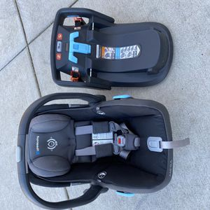 UppaBaby Car Seat And 2 Bases - Baby / Infant Seat for Sale in Hendersonville, TN