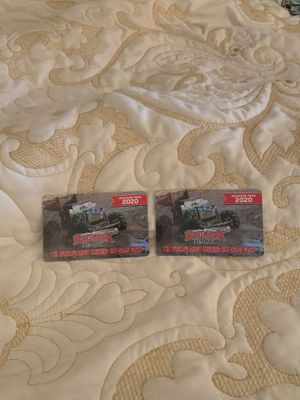 Redneck mud park weekend passes for Sale in Fort Myers, FL
