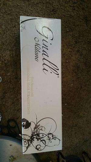 Ginalli Milano professional hair straightener tourmaline for Sale in Perris, CA
