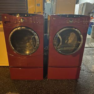 ( Gas Dryer ) Ge Washer And Dryer !! Gas !! / delivery Available for Sale in Tampa, FL