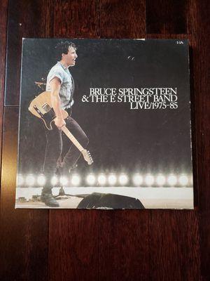 Bruce Springsteen live vinyl box set for Sale in Webster, NY