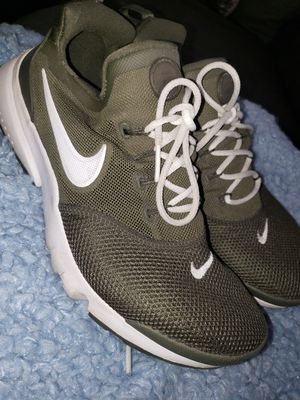 Nike shoes army Green Sz 6y for Sale in San Pedro, CA