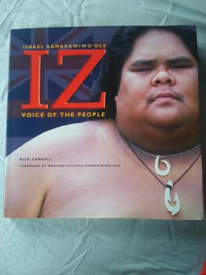 IZ Voice of the People Hard cover book for Sale in Hilo, HI