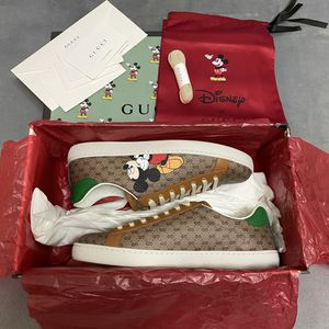 Gucci x Mickey Ace Sneakers Men size 10 for Sale in Brooklyn, NY