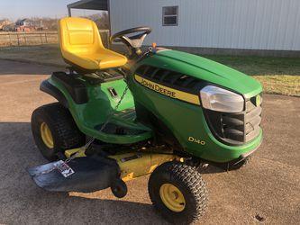 2016 John Deere D140 Lawn Tractor Mower with Low Hours for Sale in Keller,  TX