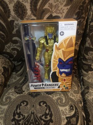 Hasbro Power Rangers Lightning Collection Mighty Morphin Goldar Action Figure for Sale in Commerce, CA
