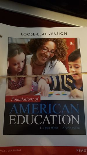 Foundations of American Education with e-textbook and access code for Sale in Stockbridge, GA