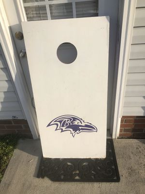 Baltimore ravens cornhole for Sale in High Point, NC