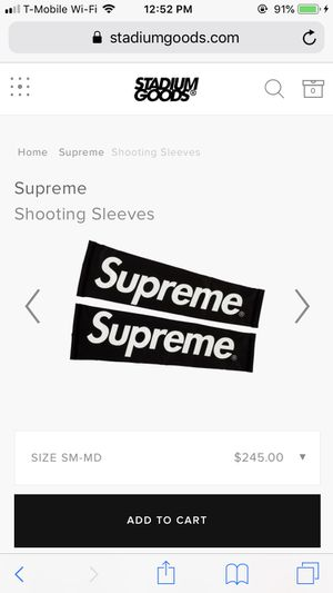 Supreme nike sleeve 100% authentic for Sale in Orlando, FL