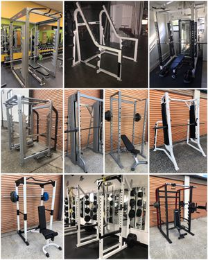 Weight Benches, Squat Racks, Smith Machines, Olympic Plates, Dumbbells, Leg Presses for Sale in Davenport, FL
