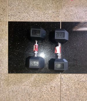 35 Pound Dumbbells for Sale in North Chesterfield, VA