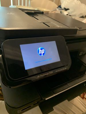 HP Photosmart 7520 Series All-In-One Inkjet Touchscreen Wireless Printer for Sale in Haymarket, VA