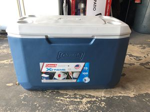 Coleman 70 quart extreme cooler like new for Sale in Quakertown, PA