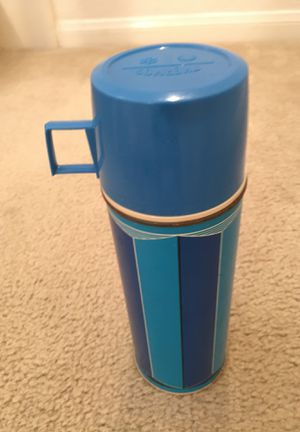 Thermos with glass liner and cup top antique for Sale in San Diego, CA
