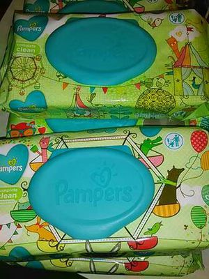 Pamper wipes* $1.50 a pk. for Sale in Toledo, OH