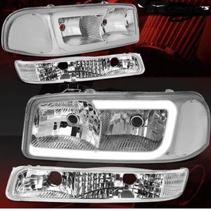 gmc yukon sierra headlights for Sale in Baldwin Park, CA