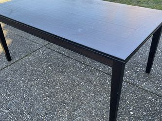 Black Dining Table for Sale in Maple Valley,  WA