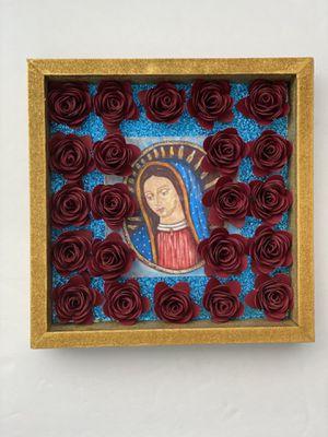 Shadow Box - Virgen de Guadalupe for Sale in El Mirage, AZ
