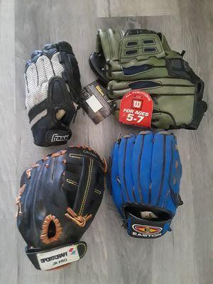 Baseball gloves for Sale in Riverside, CA